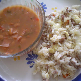 Baked Rice Casserole.