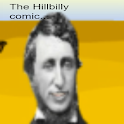 Hillbilly comedian logo