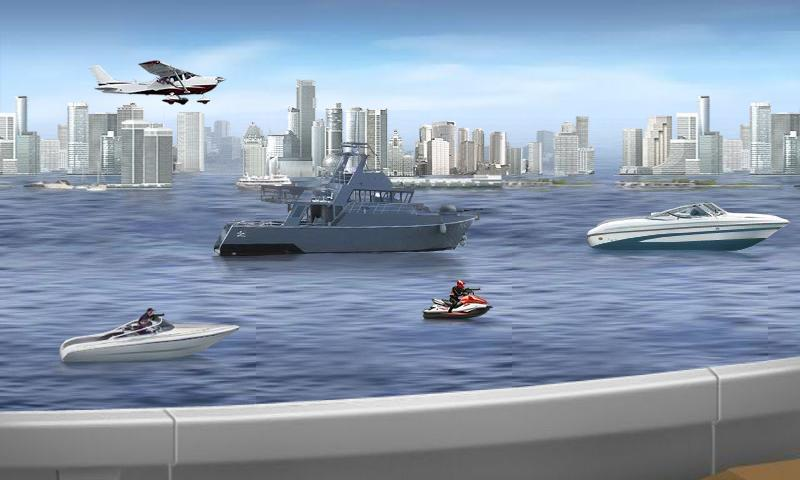 SpeedBoat Shooting - screenshot