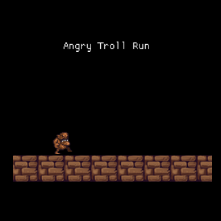 Angry Troll Run - screenshot