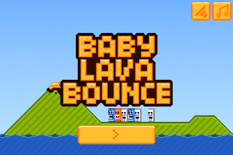 Baby Lava Bounce- screenshot thumbnail