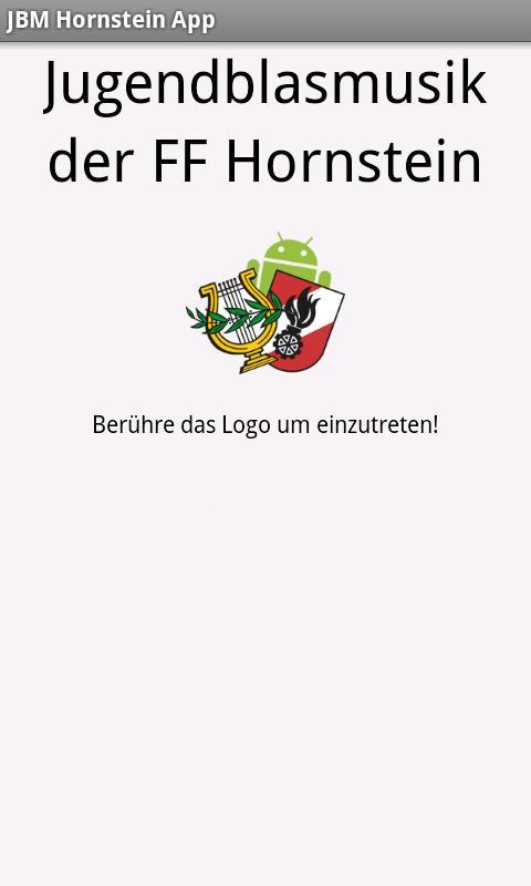 JBM Hornstein App- screenshot