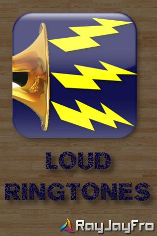 Loud Ringtones- screenshot