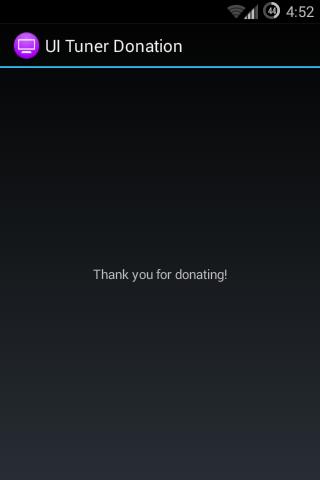 UI Tuner DONATION