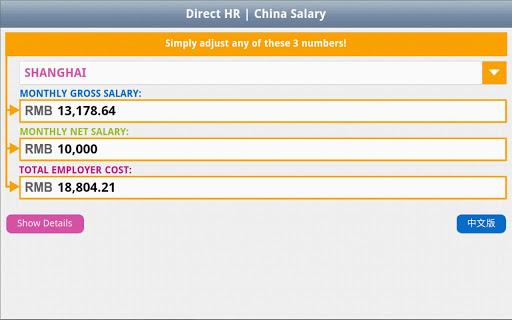 China Salary