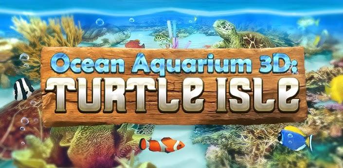 Ocean Aquarium 3D: Turtle Isle - интерактивные Живые Обои с потрясающей 3D графикой