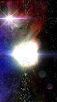 Screenshot of Celestial Bodies LiveWallpaper