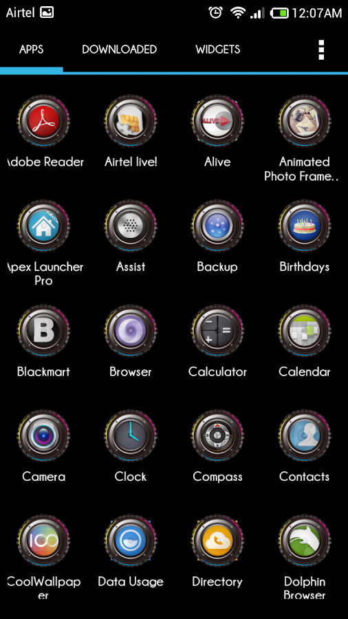 Music Lover Icons Apex Nova - screenshot