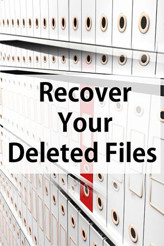 Recover Your Deleted Files