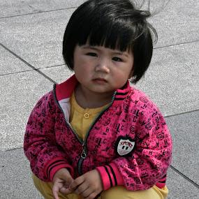 Ni Hao by Jen Thiele - Babies & Children Children Candids ( thebund, redshoes, toddler, cute, chinese )