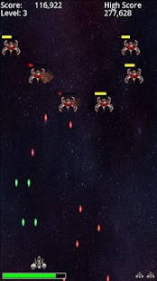Free Space Invaders Style Game - screenshot thumbnail