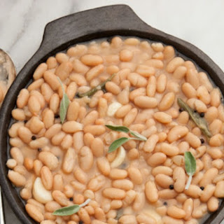 Nonna Miri's Beans in a Flask… In The Slow Cooker