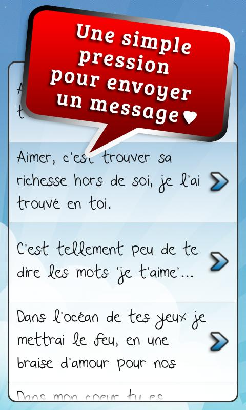 Messages d'Amour et Citations- screenshot