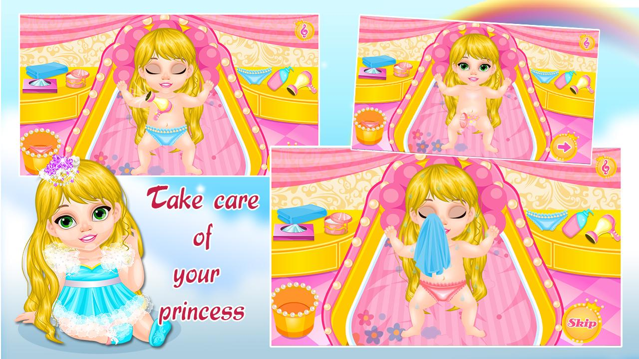 Baby Rapunzel Care- screenshot