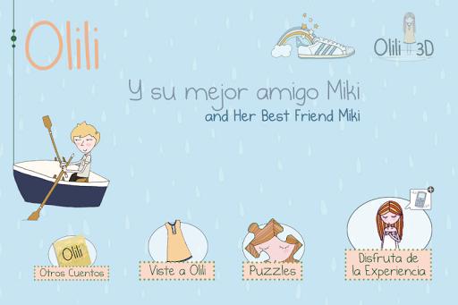 Olili 3D y su mejor amigo Miki