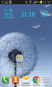 Transparent Weather And Clock screenshot 8