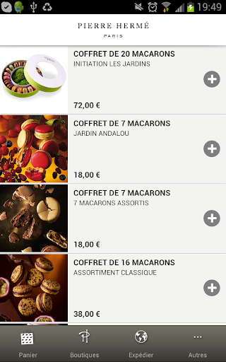 Macarons Pierre Hermé Paris