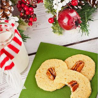 Bourbon-Pecan Butter Cookies