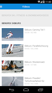 bergfex/Ski - screenshot thumbnail