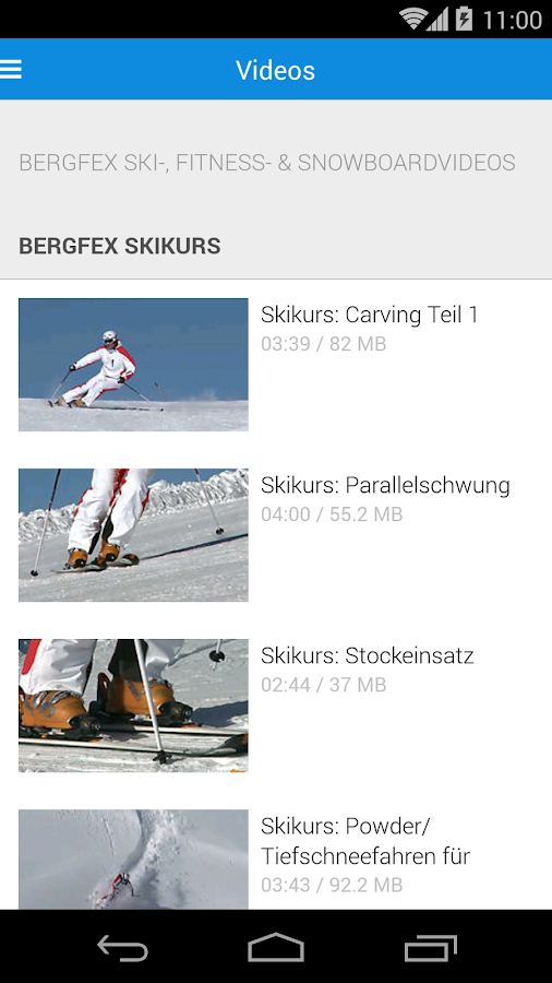 bergfex/Ski - screenshot