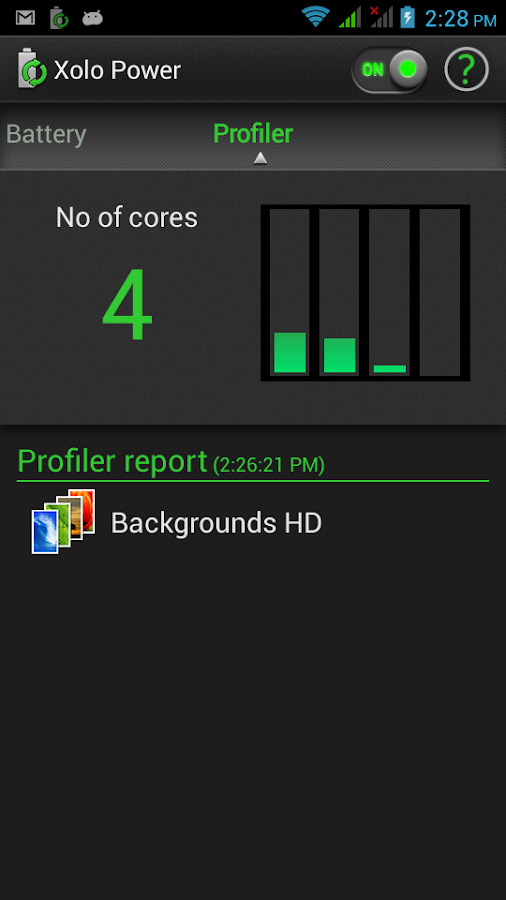 Xolo Power - screenshot