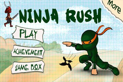 Ninja Rush- screenshot