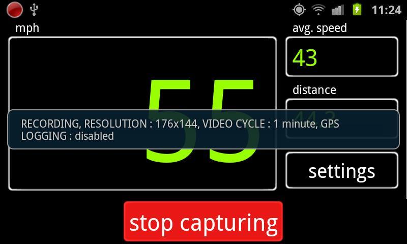 Car DVR - screenshot