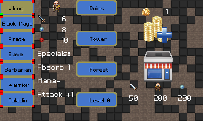 Mobile Dungeons Roguelike RPG - screenshot