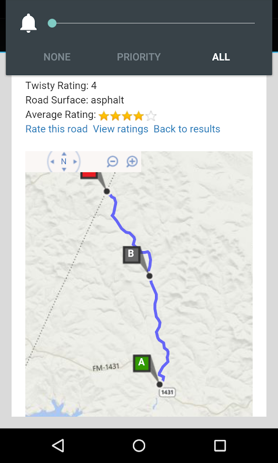 Twisty Road Finder- screenshot