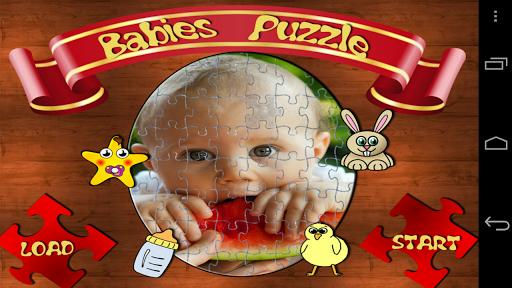 婴儿壁纸拼图