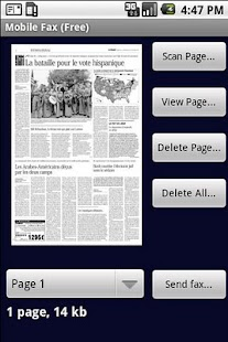 Mobile Fax Free- screenshot thumbnail