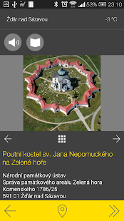 Žďár nad Sázavou - audio tour- screenshot thumbnail
