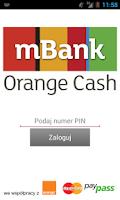 Screenshot of mBank Orange Cash
