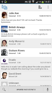 HulloMail Free Smart Voicemail- screenshot thumbnail