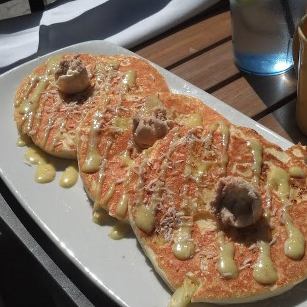 Gluten Free Pineapple Pancakes!