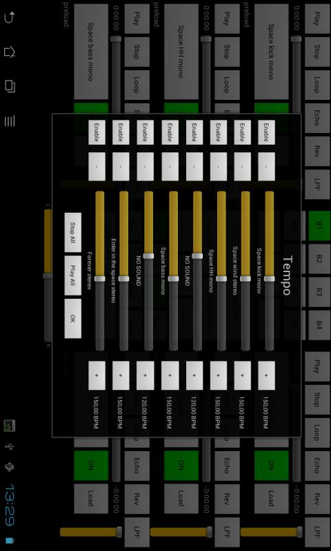 Live Touch XJ DJ console mp3- screenshot