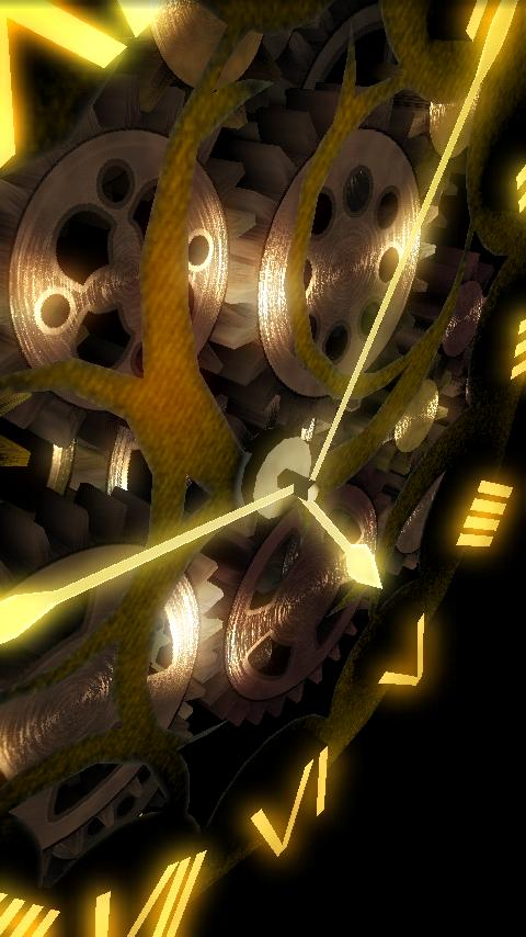 ClockWork Live Wallpaper - screenshot