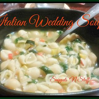 Talitha's Italian Wedding Soup.