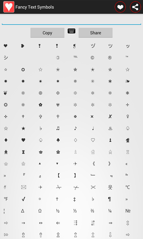 Fancy Text Symbols Android Apps On Google Play