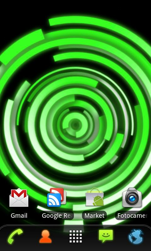 RLW Theme Green Glow - screenshot