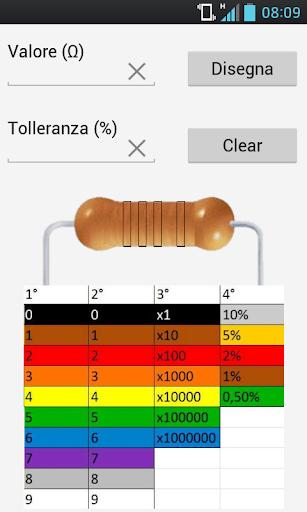 Resistor ColorToValue