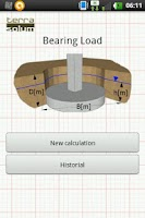 Screenshot of Bearing Capacity