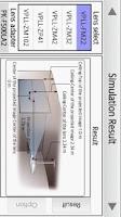 Screenshot of Projection Simulator
