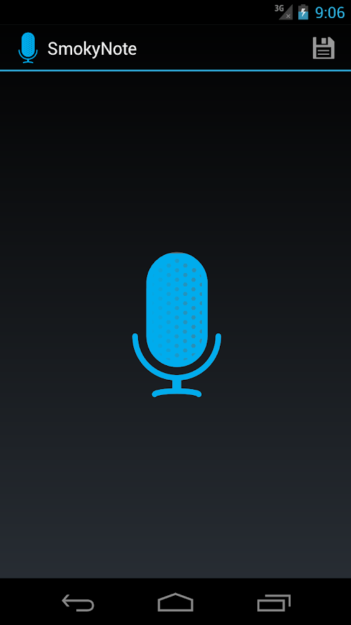 SmokyNote - Voice reminder- screenshot