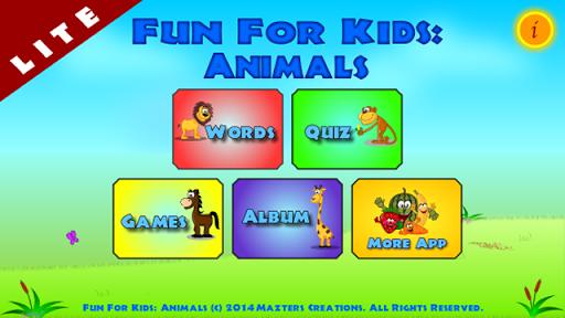 Fun4Kids: Animals Lite
