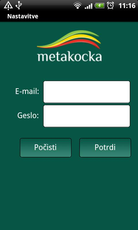 MetaKocka- screenshot
