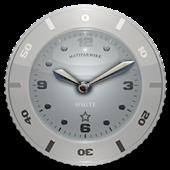 Clock Widget White Star