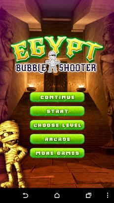 Egypt Bubbles Shooter screenshot