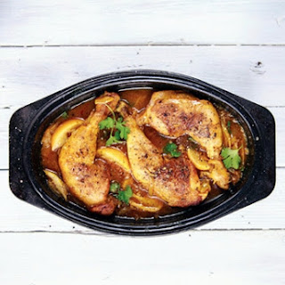 Chicken with Preserved Lemons and Fragrant Spices