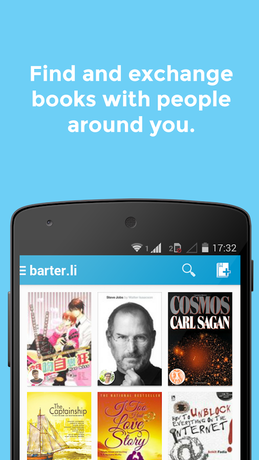 barter.li: chat & barter books- screenshot